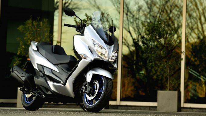Suzuki Burgman 400 Euro5