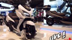 Live Eicma 2016: Suzuki Burgman 400 in video - Immagine: 1