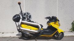 Suzuki Burgman 650 anti incendio