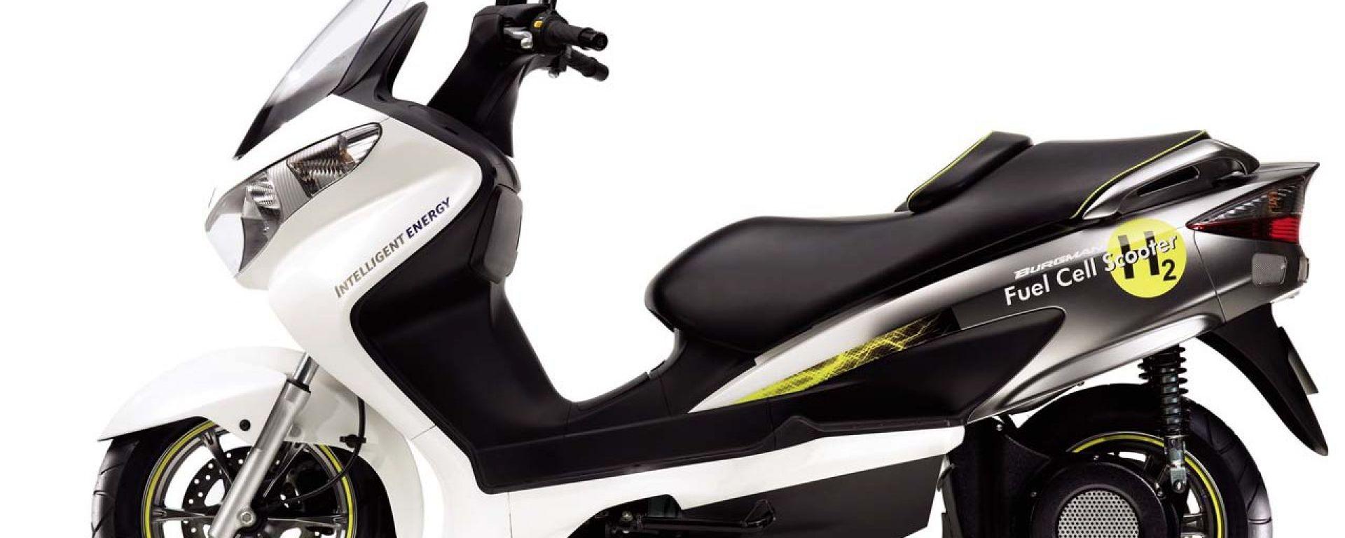 Suzuki Burgman Fuel Cell al salone di Francoforte