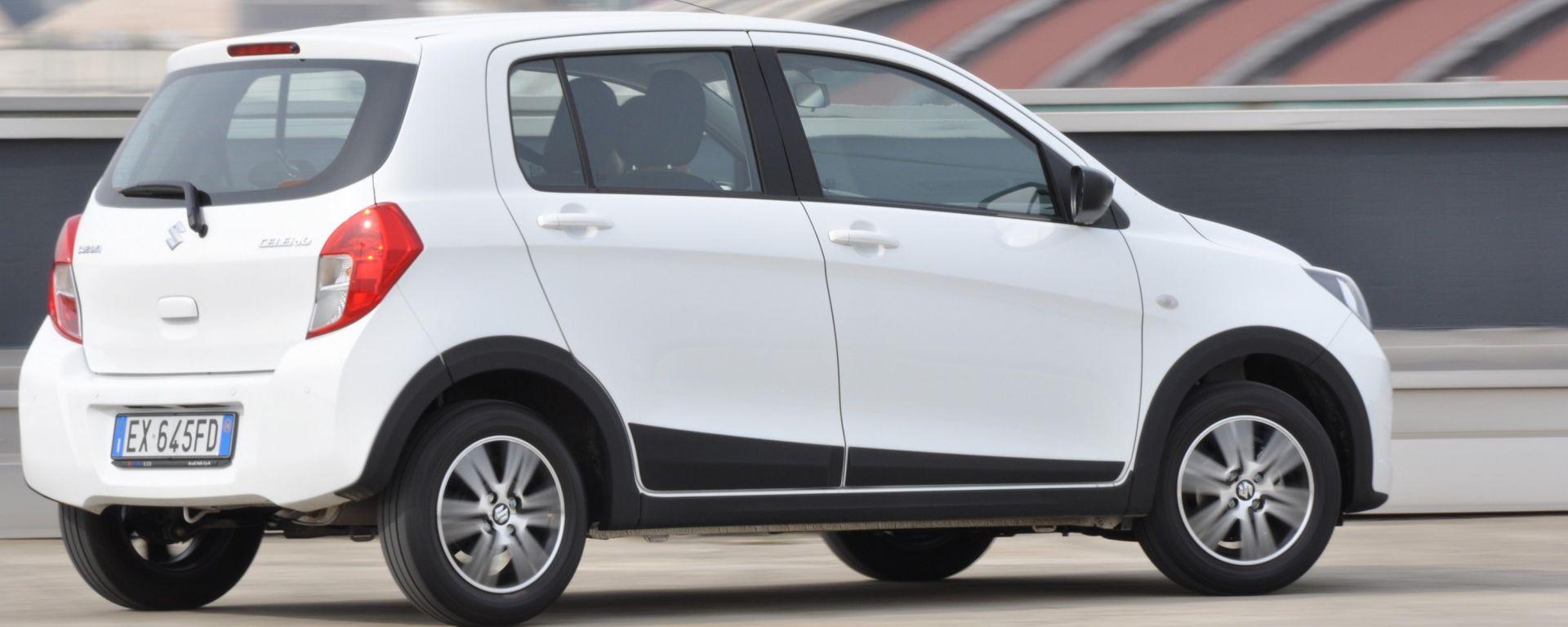 Suzuki Celerio: il bello della semplicità