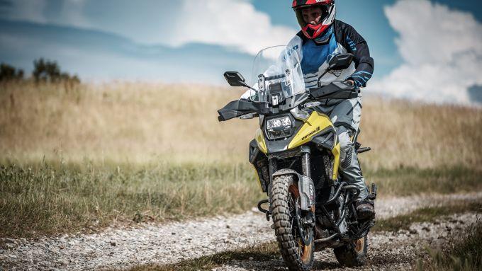 Suzuki Demo Ride, con V-Strom 1050XT in alta Val Susa