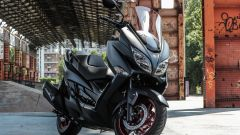 Suzuki Demoride Tour 2017, Burgman 400 in prova