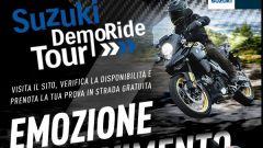 Suzuki DemoRide Tour 2019 pasqua. Calendario, info, moto in prova