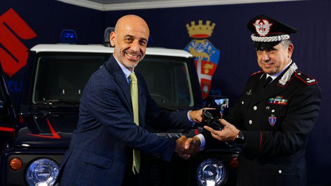 Suzuki e Carabinieri insieme contro il crimine