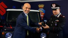 Suzuki e Carabinieri uniscono le forze contro il crimine