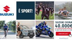 Suzuki è Sport: 40.000 euro in palio per le società che riceveranno più click