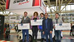 Suzuki è Sport: il concorso metteva in palio 36 mila euro per 9 associazioni sportive dilettantistiche
