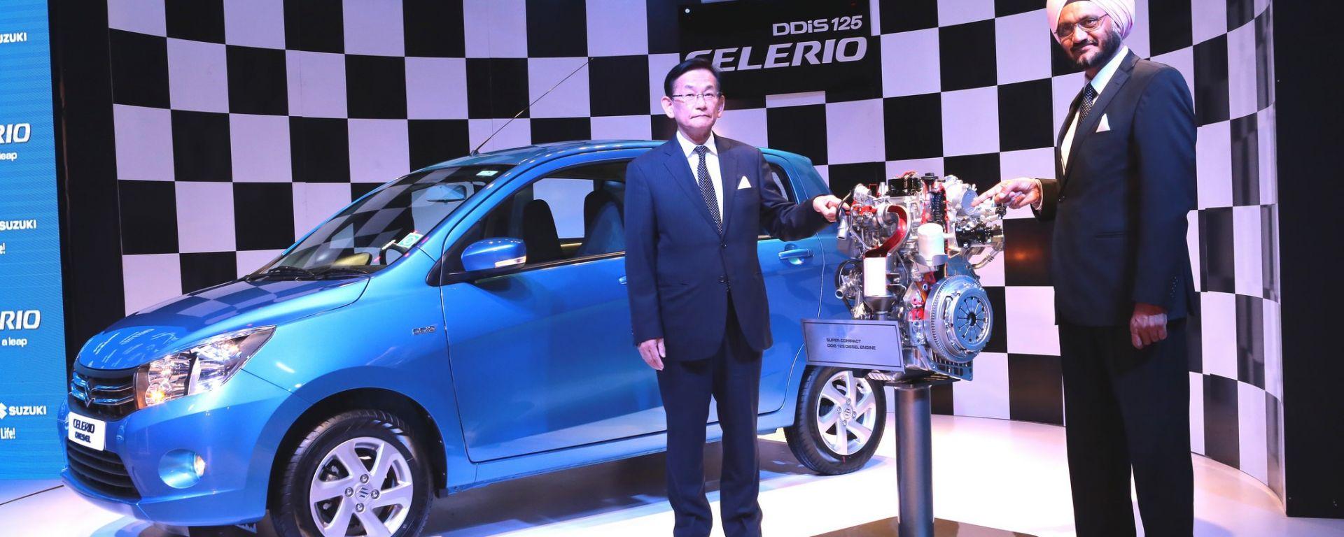 Suzuki: ecco il bicilindrico diesel