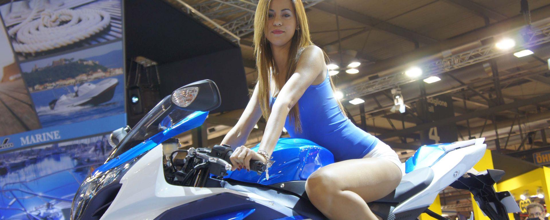 Eicma 2011: lo stand Suzuki