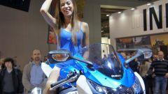 Eicma 2011: lo stand Suzuki  - Immagine: 4