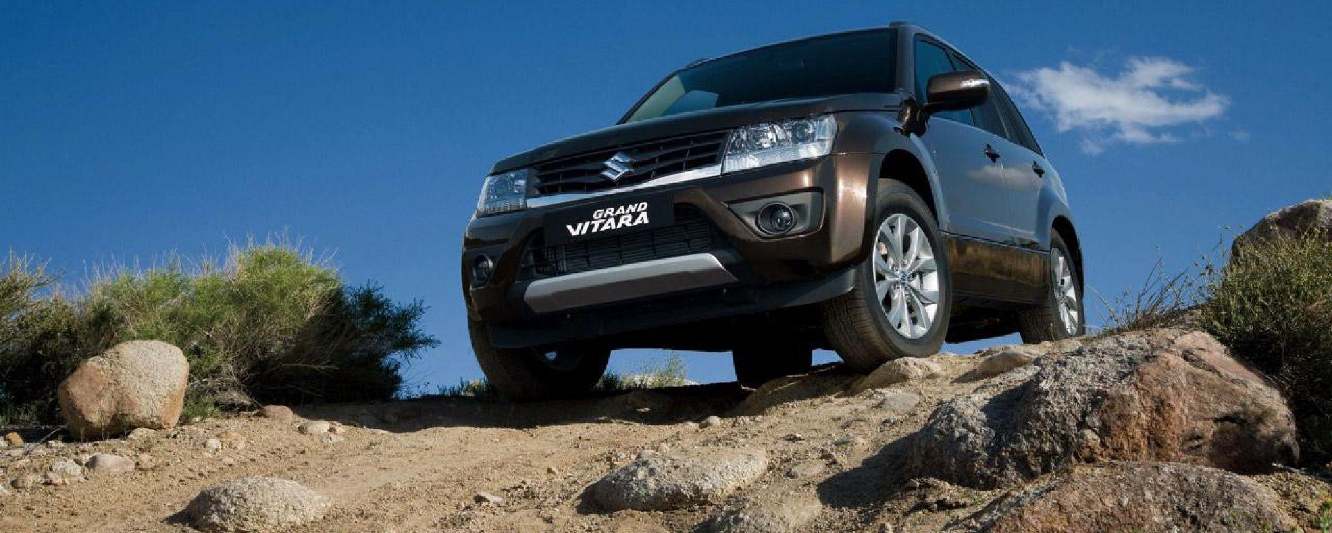 Suzuki Grand Vitara 2013: le nuove foto
