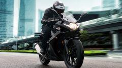 Suzuki GSX 250R: fa 32 km con un litro