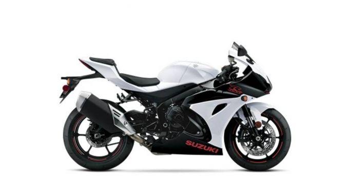 Suzuki GSX-R 1000 2020: la versione bianca/nera