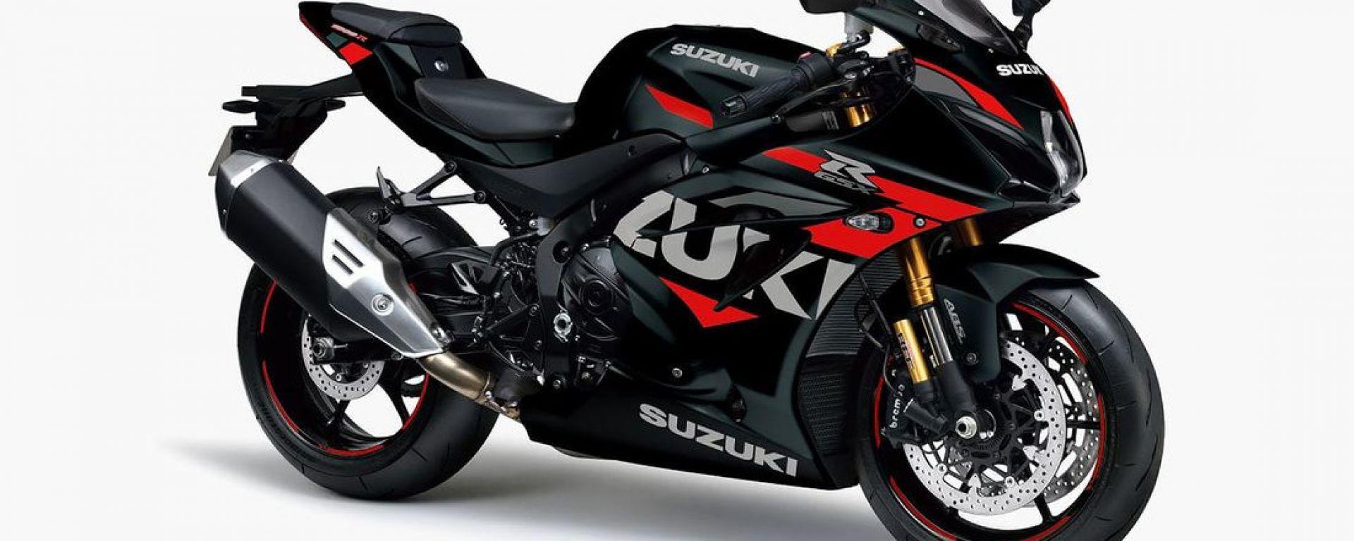 Suzuki GSX-R 1000: la livrea standard destinata - almeno per ora - al Giappone