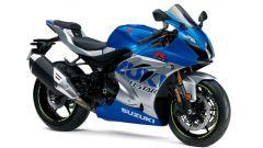 Suzuki GSX-R 1000: la livrea stile MotoGP celebra il 60° anniversario della Casa di Hamamatsu nel mondo delle corse