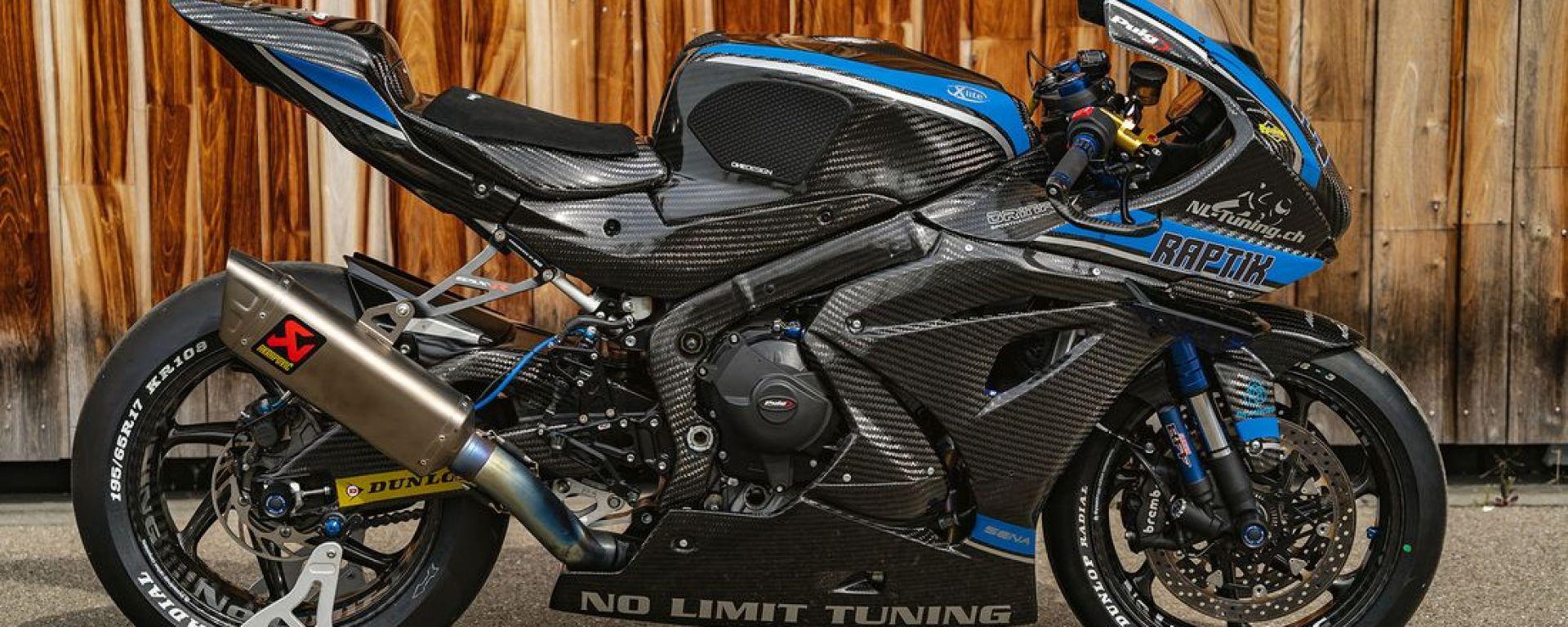 Suzuki GSX-R 1000: questa versione di Raptik sembra una Ryuyo fatta in casa