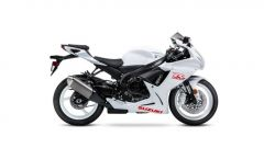 Suzuki GSX-R 600 2020: la colorazione total white