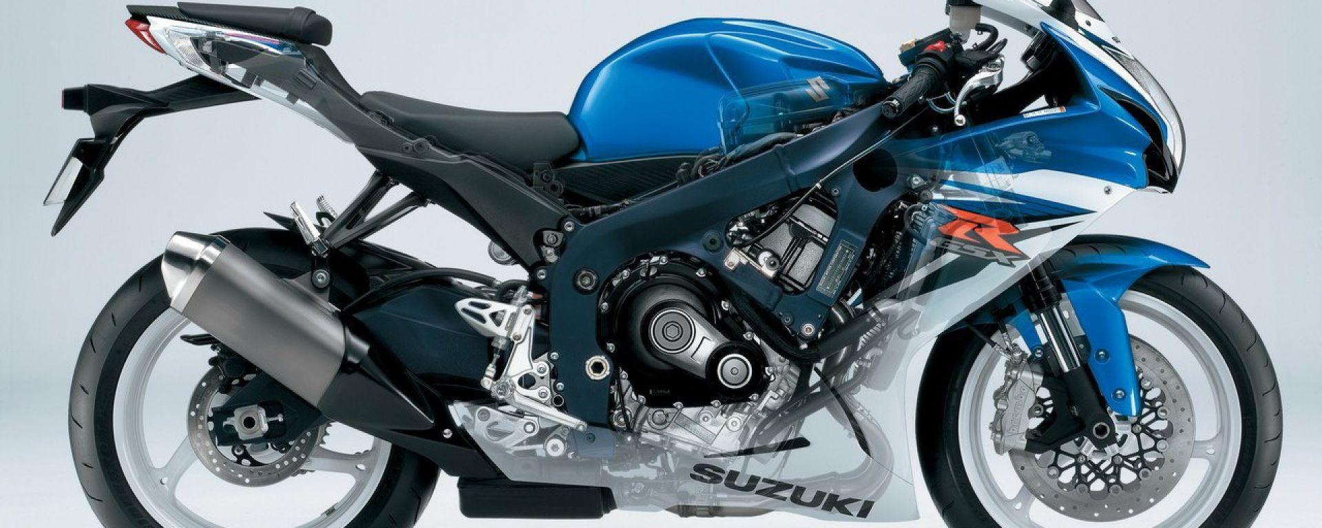 Suzuki GSX-R 600 e 750 2011