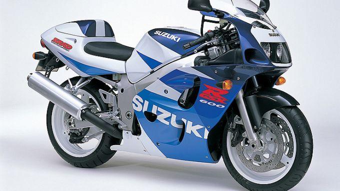 Suzuki GSX-R 600 SRAD 1997