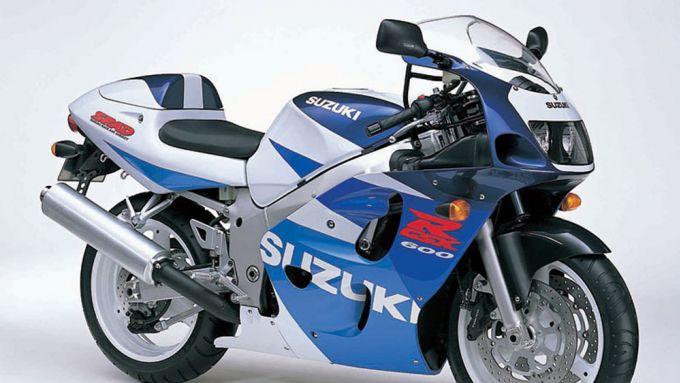 Suzuki GSX-R 750 SRAD del 1996