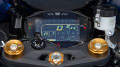 Suzuki GSX-R1000 2017, quadro strumenti