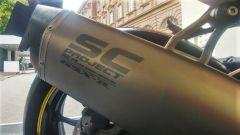 Suzuki GSX-R1000 BeeRacing: lo scarico