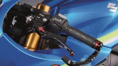 Suzuki GSX-R1000: leve regolabili