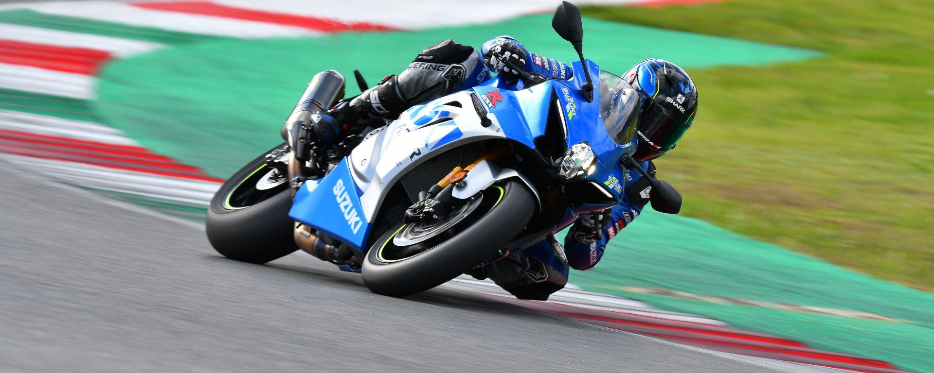 Suzuki GSX-R1000 R Anniversary: la supersportiva con la livrea MotoGP e terminale Akrapovic