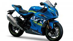 Suzuki GSX-R1000R 2017, azzurro MotoGP