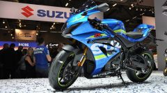 Suzuki GSX-R1000R 2017, tre quarti anteriore