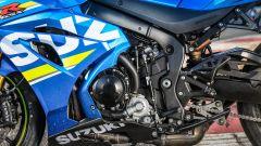 Suzuki GSX-R1000R 2018: dietro le carene occhieggia il motore