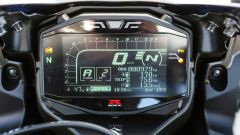 Suzuki GSX-R1000R 2018: il quadro strumenti LCD