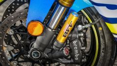 Suzuki GSX-R1000R 2018: la forcella Showa ha steli da 43 mm