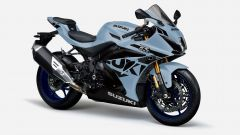 Suzuki GSX-R1000R 2022: nuovo colore grigio. Ecco come cambia
