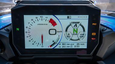 Suzuki GSX-S 1000 GT: il nuovo display TFT da 6,5''