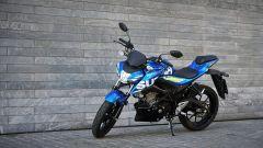 Suzuki GSX-S 125, la colorazione MotoGP le dà una marcia in più
