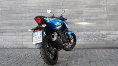 Suzuki GSX-S 125, vista posteriore