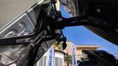 Suzuki GSX-S 750 Yugen Carbon: il porta targa in ergal lavorato dal pieno