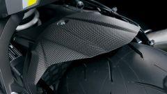 Suzuki GSX-S1000 Web Edition 2021: il parafango posteriore in carbonio