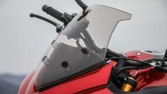 Suzuki GSX-S1000F: dettaglio del parabrezza fisso