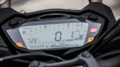 Suzuki GSX-S1000F: dettaglio del quadro strumenti digitale