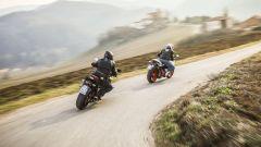Suzuki GSX-S1000F e Ducati Supersport S a confronto
