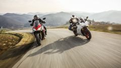 Ducati Supersport S vs Suzuki GSX-S1000F: comparativa sport tourer