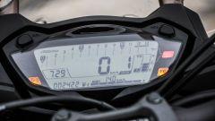 Suzuki GSX-S1000F: il quadro strumenti digitale