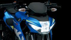 Suzuki GSX-S125, la fanaleria a LED