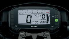 Suzuki GSX-S125: la strumentazione digitale