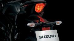 Suzuki GSX-S125, le luci di coda a LED