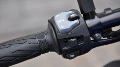 Suzuki GSX-S750, con questo tasto si sfogliano i menu della strumentazione