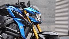 Suzuki GSX-S750, il faro anteriore è tradizionale